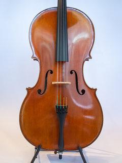 Henri Delille Pierre Marcel #6, Strad 1710 model cello, 2018, S/N 434, Belgium