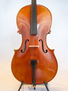 Mi & Vi Serafina DX 4/4 cello, fully carved, with high quality strings