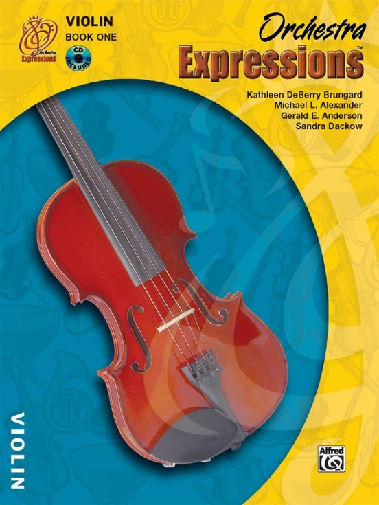 Alfred Music Brungard, K.D.: Orchestra Expressions Book 1 (violin & CD) Alfred