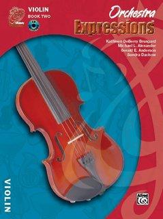 Alfred Music Brungard, K.D.: Orchestra Expressions Book 2 (violin & CD) Alfred