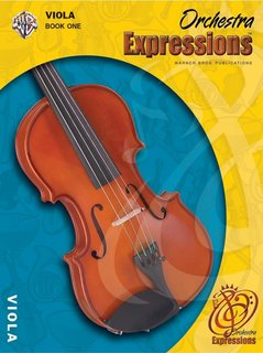 Alfred Music Brungard, K.D.: Orchestra Expressions Book 1 (viola & CD)