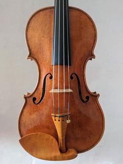 Francis Morris violin, Lord Wilton Guarneri model, highly antiqued, Great Barrington, MA, USA, 2020