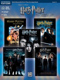 Alfred Music Williams, J.: Harry Potter Instrumental Solos for Strings (Movies 1-5) (Violin & CD) Alfred