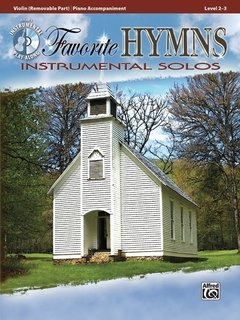 Alfred Music Favorite Hymns Instrumental Solos for Strings (Violin Book + CD) Alfred