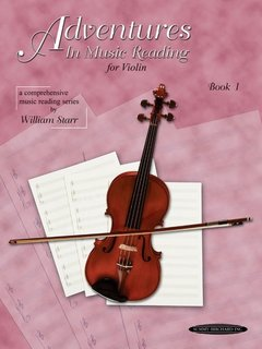 Starr: Adventures in Music Reading for Violin, Book 1 (violin) Summy-Birchard