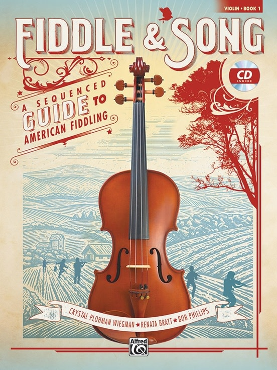 Alfred Music Wiegman: Fiddle & Song, Book 1, A Sequenced Guide to American Fiddling, Violin Book + CD, Alfred