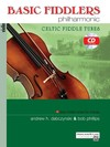 Alfred Music Dabczynski, A.: Basic Fiddlers Philharmonic - Celtic Fiddle Tunes (violin & CD) Alfred