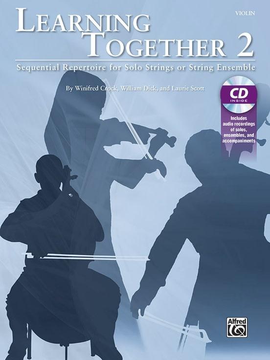 Alfred Music Crock, Dick, & Scott: Learning Together 2 (violin) (CD) Alfred
