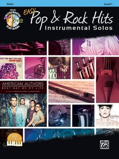 Galliford: Easy Pop & Rock Hits Instrumental Solos for Strings (Violin Book +CD) Alfred