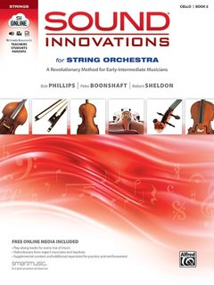 Alfred Music Phillips, Boonshaft, Sheldon: Sound Innovations for String Orchestra, Book 2 (cello Book + Online Media), Alfred