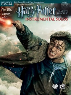 Alfred Music Harry Potter Instrumental Solos for Strings (Cello, Piano & CD) Alfred