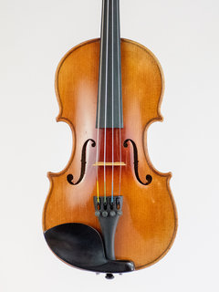 "French 1/2 ""Strad 1721"" violin outfit, 1891, Mirecourt, FRANCE"