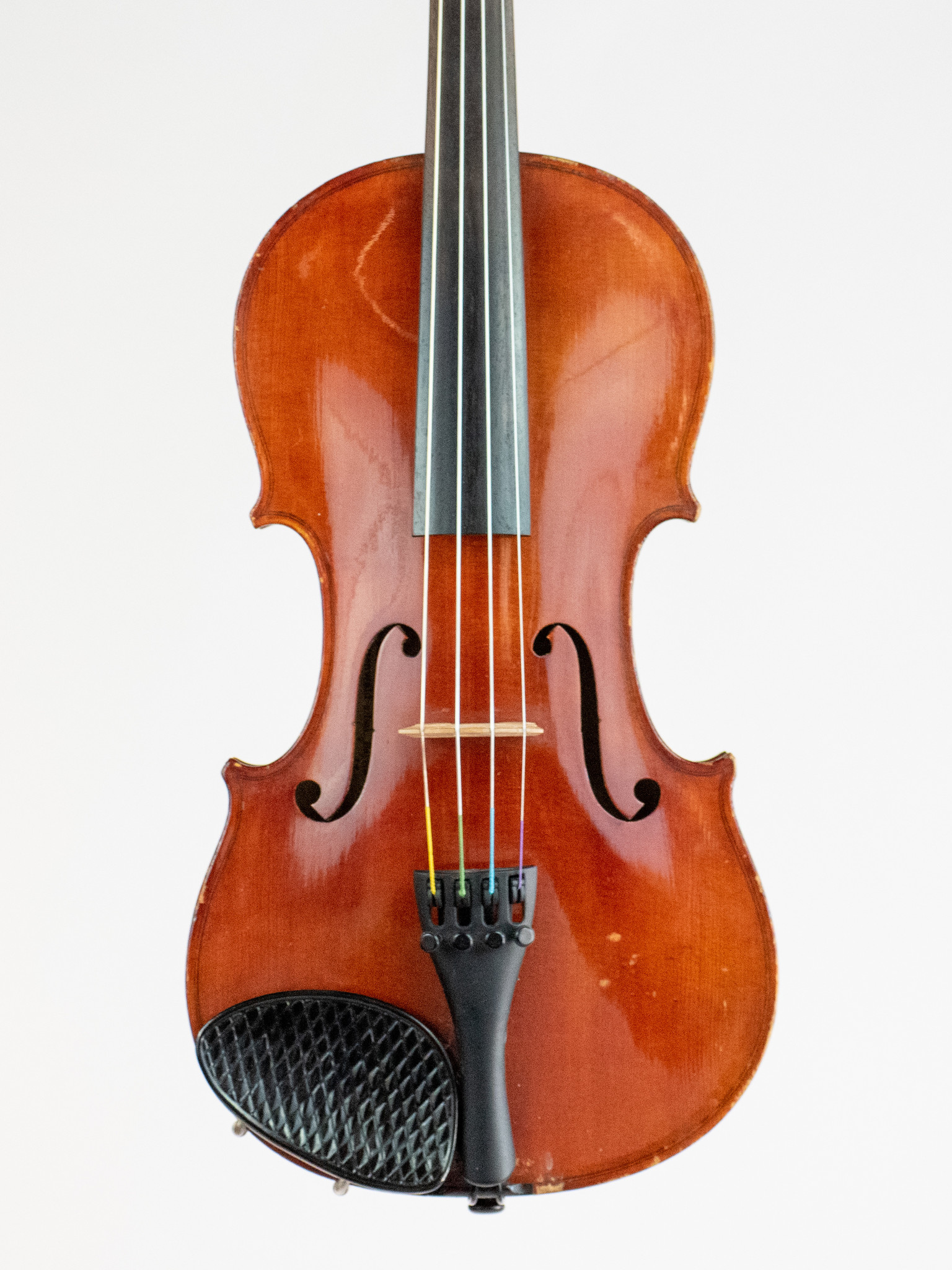 J.A. Baader 3/4 violin outfit, used, Mittenwald 1922