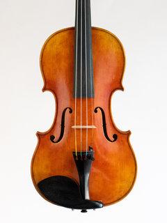 Otto Musica OTTO antiqued orange-brown model 468 violin with European wood, 2017