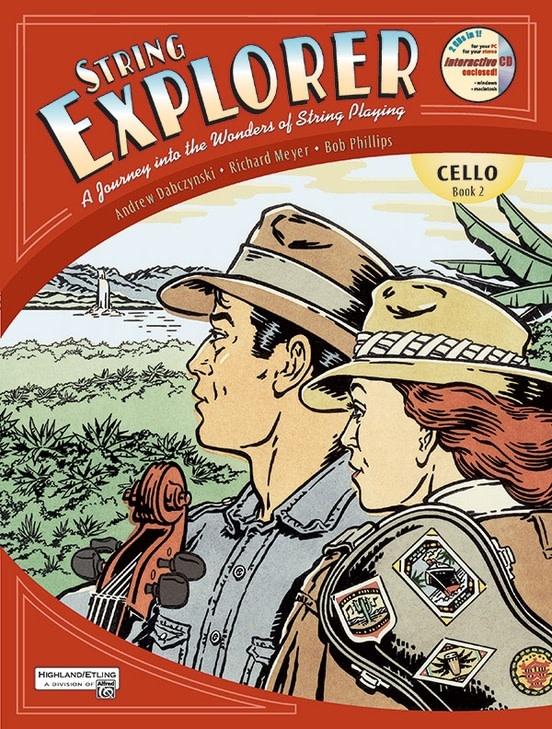 Alfred Music Dabczynski: String Explorer Book 2 (Cello & CD) Alfred