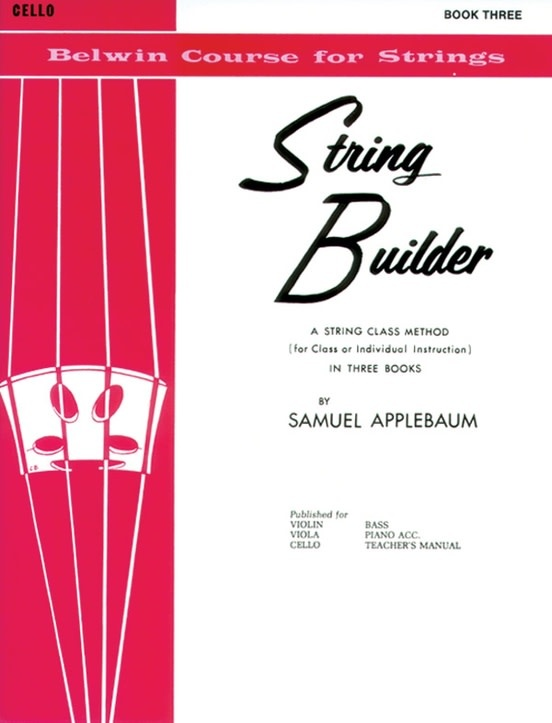 Alfred Music Applebaum: String Builder, Book 3 (cello) Belwin
