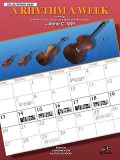 Alfred Music Witt, Anne: A Rhythm a Week (cello)
