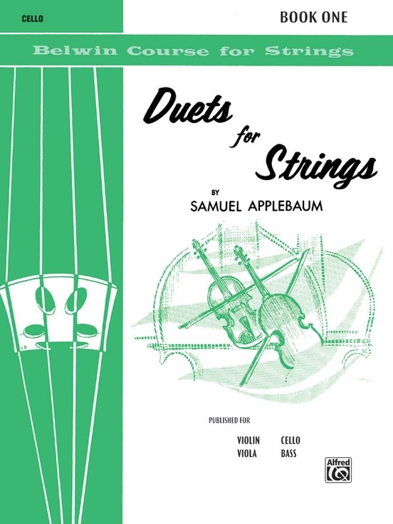 Alfred Music Applebaum, Samuel: Duets for Strings, Book One (2 cellos)