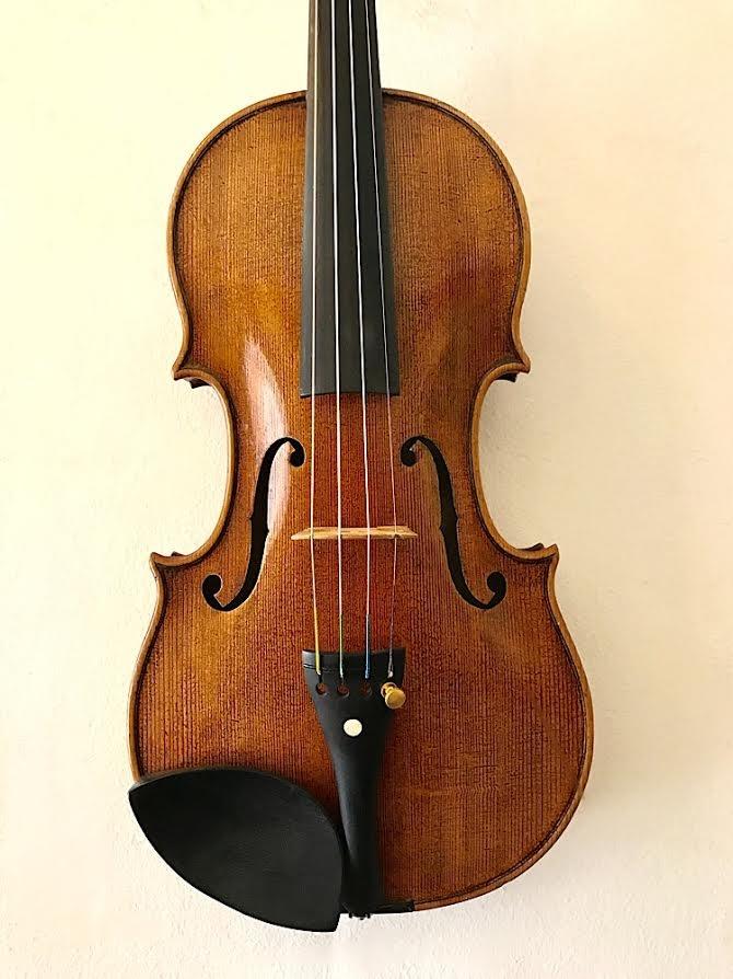 Czech John Juzek label 4/4 Violin, 1932, Czechoslovakia
