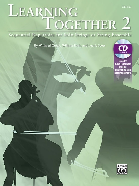 Alfred Music Crock, Dick, & Scott: Learning Together 2 (cello)(CD) Alfred