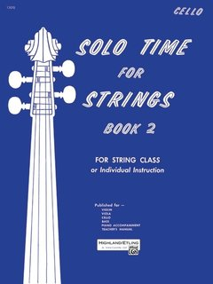 Alfred Music Etling, F.R.: Solo Time for Strings, Book 2 (cello)