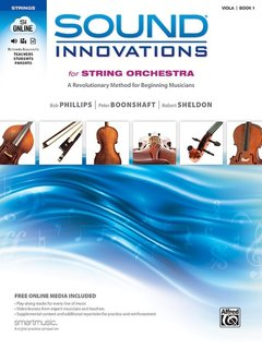 Alfred Music Phillips, Boonshaft, Sheldon: Sound Innovations for String Orchestra, Book One (1), (viola + Online Media) Alfred