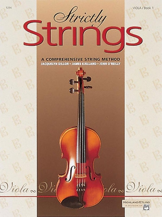 Alfred Music Dillon, Kjelland & O'Reilly: Strictly Strings Book 1 (viola)