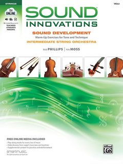 Alfred Music Innovations for String Orchestra: Sound Development (Intermediate), Viola Book, Alfred