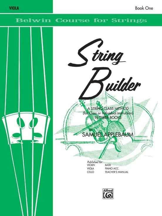Alfred Music Applebaum: String Builder, Book One (viola) Belwin