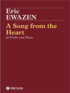 FISCHER Ewazen: A Song from the Heart (violin and piano)