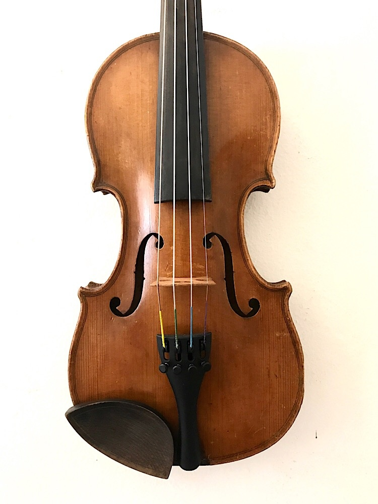 Fritz Pulpaneck 1/4 violin outfit, Germany