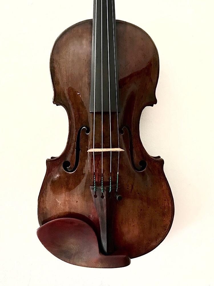 Georg Kloz (Klotz) Mittenwald label 1769 violin