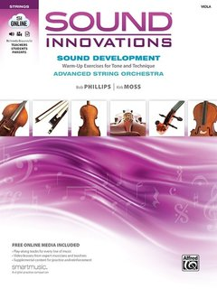 Alfred Music Sound Innovations for String Orchestra: Sound Development (Advanced), Viola Book, Alfred