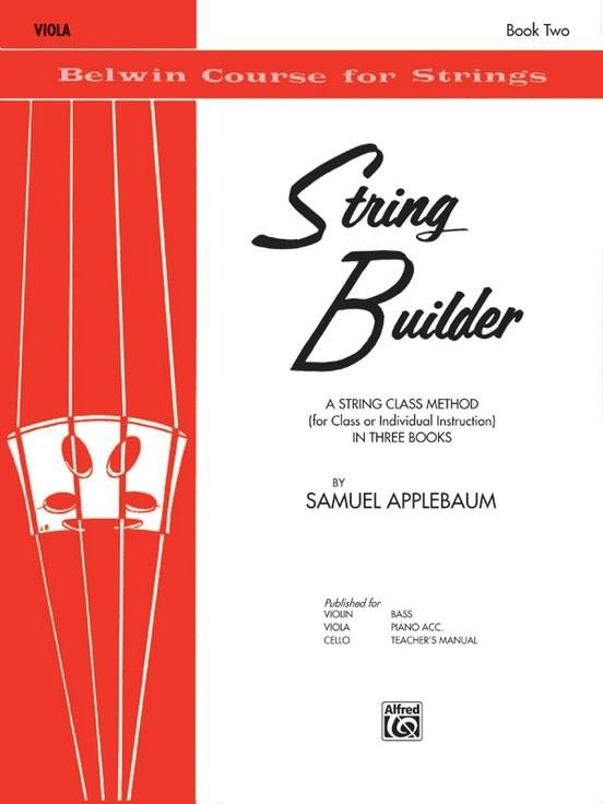 Alfred Music Applebaum: String Builder, Book Two (viola) Belwin Mills Publishing