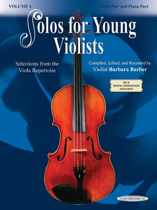Barber, Barbara: Solos for Young Violists Volume 4 (viola & piano)