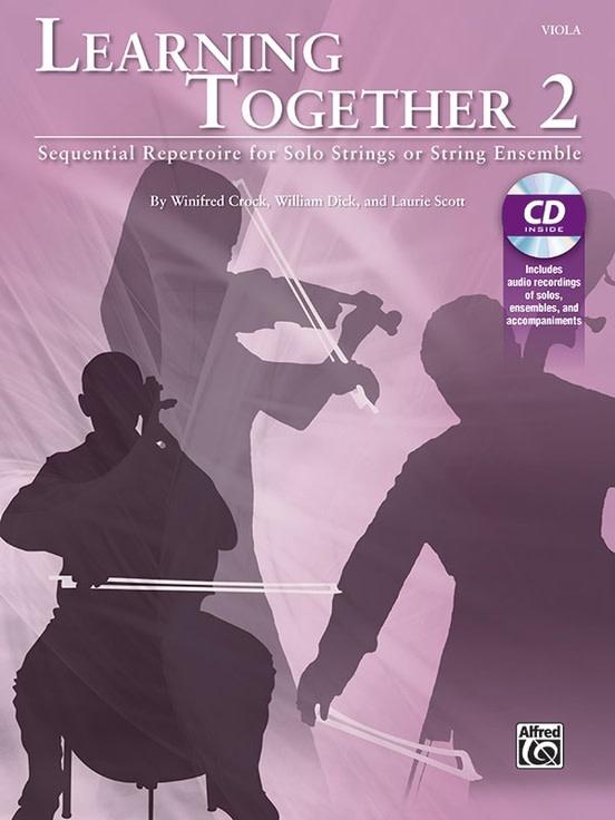 Alfred Music Crock, Dick, & Scott: Learning Together 2 (viola)(CD) Alfred