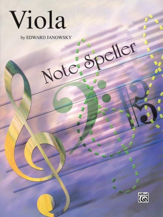 Alfred Music Janowsky, Edward: Note Speller (viola)