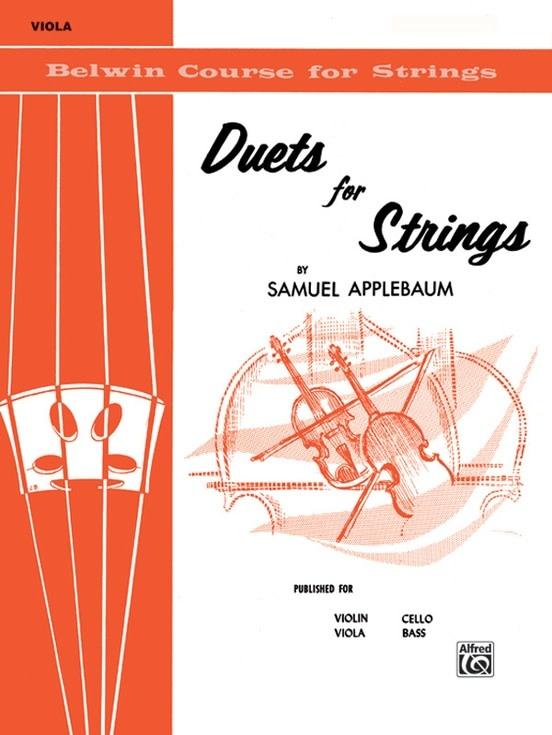 Alfred Music Applebaum, Samuel: Duets for Strings, Book One (2 violas)