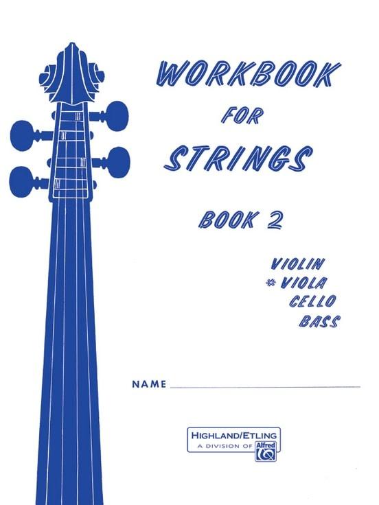 Alfred Music Etling, F.R.: Workbook for Strings, Book 2 (viola)