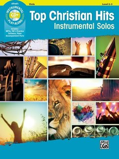 Alfred Music Top Christian Hits Instrumental Solos for Strings (Viola Book + Online Access) Alfred