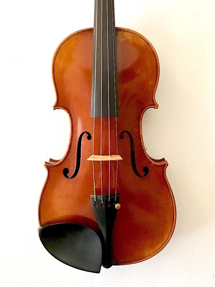 Belgian Henri Delille violin, 4/4