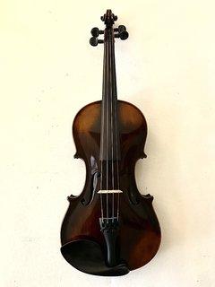 Fried. Aug. Glass label violin, ca 1895, GERMANY