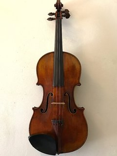 "French Grandjon school 4/4 violin labeled ""Strad"""