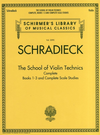 HAL LEONARD Schradieck, Henry: The Complete School of Violin Tecnhiques, Books 1 - 3 (violin) Schirmer