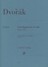 HAL LEONARD Dvorak (Jost): String Quartet No.14 in Ab Major, Op.105 - URTEXT (string quartet)