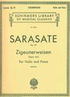 Schirmer Sarasate (Mittell): Zigeunerweisen, Op.20 ''Gypsy Airs'' (violin & piano)