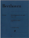 HAL LEONARD Beethoven (Platen): String Quartet in C Sharp minor, Op.131 - URTEXT (string quartet)