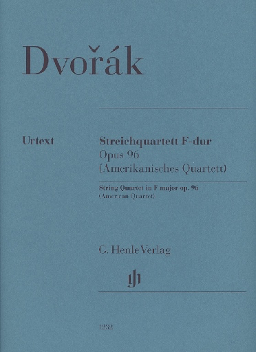"HAL LEONARD Dvorak: String Quartet No.12 in F Major - ""American Quartet,"" Op.96 - URTEXT (string quartet) Henle"