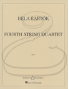 HAL LEONARD Bartok: String Quartet No.4 (1928) (string quartet) Boosey & Hawkes