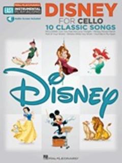 HAL LEONARD Disney for Cello-10 Classic Songs (cello & CD)